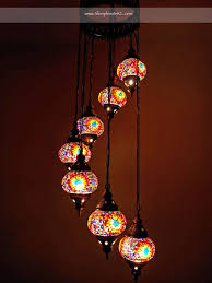 and that s how i managed to bring back the ultimate souvenir ever a seven tier hanging turkish glass mosaic lamp
