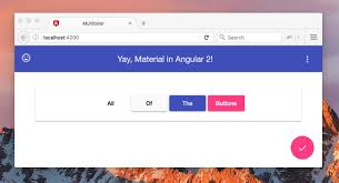 Angular Design Components Getting Started With Angular Material 2 Alligator Io