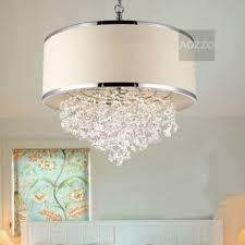 drum shade pendant lighting. Simple Lighting Jollyhome Beige Drum Shade Crystal Pendant Light Fixtures Modern Regarding  Ceiling On Lighting A