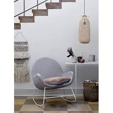 bloomingville liva grey rocking chair grey rocking chair25