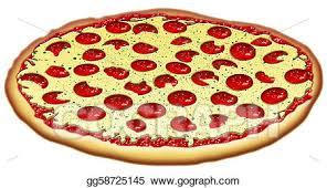 cheese pizza clipart. Interesting Pizza Pepproni U0026 Cheese Pizza Inside Clipart L