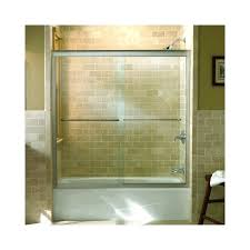 frameless bypass shower doors k l matte nickel bypass bath door with crystal clear glass 5 h x frameless bypass shower doors