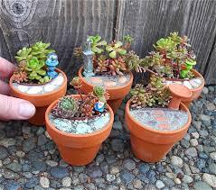 fairy garden pots. Mini-garden-design Fairy Garden Pots #