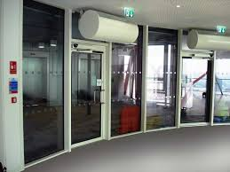 fire smoke resistant doors internal curved perspective