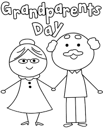 Send them your warm wishes and make them feel special through our wonderful ecards. Free Grandparents Day Coloring Sheet Card Topcoloringpages Net
