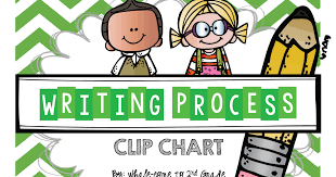 Writing Process Clip Chart Whalecome To 2nd Grade Writing Process Clip Chart