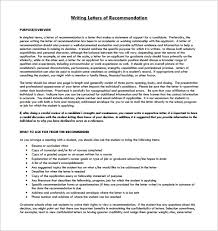 Letter Of Recommendation Student 12 Letter Of Recommendation For Student Templates Pdf Doc Free