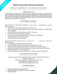 Medical Assistant Resume Samples Administrative Templates Objective ...