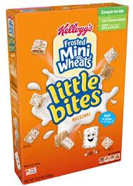 kellogg s frosted mini wheats little bites original cereal
