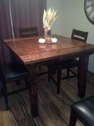 pub style table items similar to kitchen on and chairs