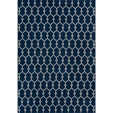 baja navy 5 ft x 8 ft indoor outdoor area rug