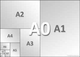 a4 paper size in inches list of paper sizes page dimensions from iso a4 to letter and