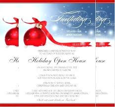 Free Christmas Invitation Template Invitation Wording For A Company Party Business Holiday