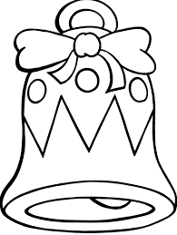 Small Picture Printable Christmas Bell Coloring Pages Christmas Coloring Pages