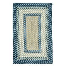 colonial mills avery blue crush indoor outdoor braided area rug 5 x 7