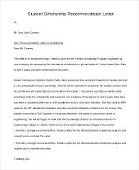 Letter of Re mendation For Student Scholarship1