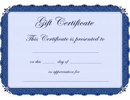 gift certificate templates microsoft office templates oninstall