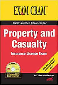 Study isaque caldas's life insurance license flashcards now! Property And Casualty Insurance License Exam Cram Riley Jeff 9780789732644 Amazon Com Books