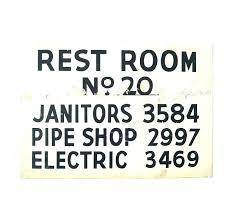Decorative Bathroom Signs Bathroom Signs Decor Wooden Bathroom Signs