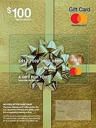 Amazon.com: $100 Mastercard Gift Card (plus $5.95 Purchase Fee ...