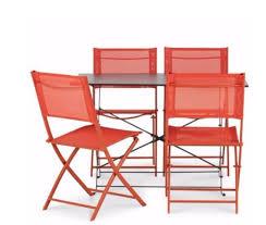 x1 bistro outdoor metal deck chair