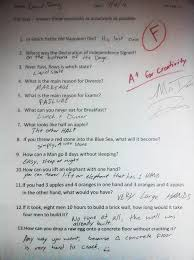 Answer Test 70 Genius Ways To Answer Exam Questions When You Havent Studied At