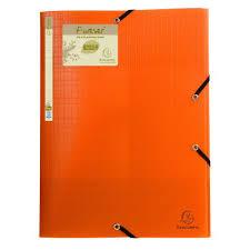 Exacompta Forever Elasticated 3 Flap Folder Assorted Pack Of 15 551570e
