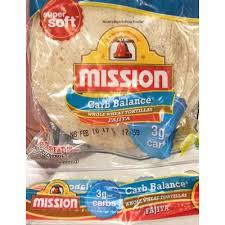 whole wheat tortillas fajita mission