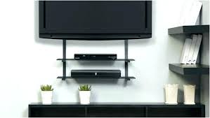 amazing tv wall mount with shelf swivel for mounted interior taffette design regard to cable box
