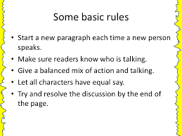 dialogue writing writing dialogue some examples 2 some basic