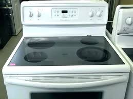 electric range top. Flat Top Electric Stove Glass Tops Appliances Range .