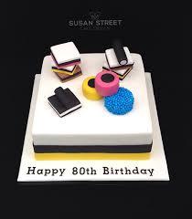 Liquorice Allsorts Cake Designs Liquorice Allsorts Cake For An 80th Birthday New House