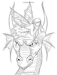 Dragon And Fairy Coloring Pages House 259 Best Artist Selina Fenech