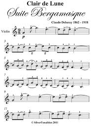 city of stars violin sheet music amazon com clair de lune debussy easy violin sheet music ebook