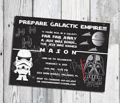 Star Wars Birthday Invitations Printable Star Wars Birthday Invitation Star Wars Invite By Funkymus