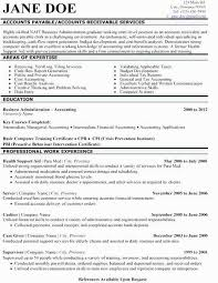 Accounts Receivable Resume Examples Accounts Payable Job Description Resume Elegant Accounts Receivables
