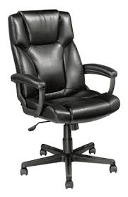 Realspace Breckland High Back Executive Chair Black By Office Depot U0026 OfficeMax