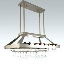 hanging wine glass rack home design ideas racks n metal wall