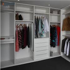 Closet Color Design Hot Item Simple Design Walk In White Color Closet For Bedroom