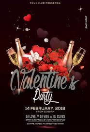 Valentines Flyers Download Free Valentines Day Flyer Psd Templates For Photoshop