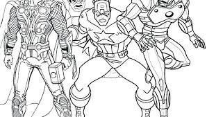 printable marvel coloring pages avengers hero factory of page awesome heroes printable marvel coloring pages free superhero
