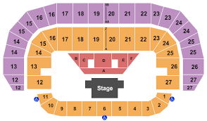Pbr Tickets Seating Chart Td Place Arena Reserved Floor 2