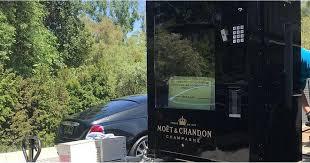Moet Vending Machine For Sale Unique Kris Jenner's Moet Chandon Champagne Vending Machine POPSUGAR Food