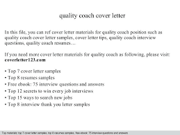 Sample Coaching Resume Cover Letter Sample Career Coach Cover Letter