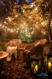 country cottage lighting ideas. christmas in the orchard with a fire pit country cottage lighting ideas o