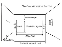garage door widthsCheap Single Car Garage Door Width B11 for Your Garage Planning
