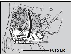 fuse locations fuses handling the unexpected honda fit interior fuse box