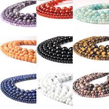 2019 <b>LanLi</b> Fashiont Jewelry <b>4/6/8/10</b>/<b>12mm Natural</b> Stones Loose ...