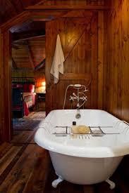 Bathroom Crown Molding Gorgeous Rustic Master Bathroom With St Louis Clawfoot Bath Tub Shelf Barn