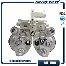 Us 620 0 Ml 400 Muti Lens Phoropter Refraction Vision Test Optometric Instruments Prototype With High Quality In Instrument Parts Accessories From